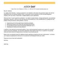 marketing cover letter va appeal letter sample