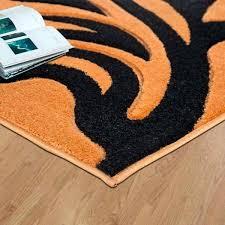 black and orange rug orange rug black black orange and white area rug black and orange rug