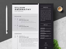 Resume Modern Ex Professional Resume Cv Template By Resume Templates On