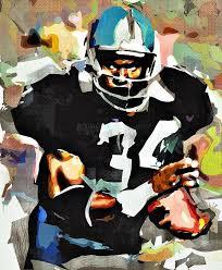 bo jackson painting by bob smerecki