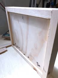 how to make simple wood frames