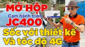 Mở Hộp Camera Hành Trình JC400 4G Quay Tài Xế - Định Vị Và Xem Video Online  Từ Xa - TechGlobal GPS - YouTube