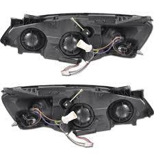 headlight wiring harness pontiac g6 headlight xenon 05 10 pontiac g6 ccfl angel eye halo projector headlights on headlight wiring harness pontiac