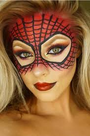 spider man inspired makeup