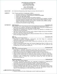 Electrical Engineer Resume Template – Mycola.info