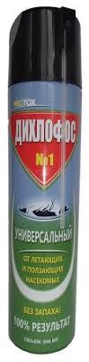 Аэрозоль Neotox <b>Дихлофос</b> №1 универсальный от летающих и ...