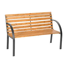 wood and metal bench. image is loading wooden-garden-bench-eucalyptus-wood-seat-with-metal- wood and metal bench