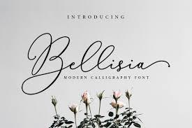 bellisia script font