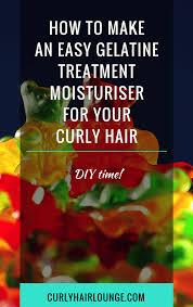 gelatine treatment moisturiser
