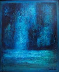 saatchi art artist saraswati p painting blue abstract landscape art