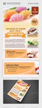 ice cream flyer templates flyer template restaurant and ice ice cream flyer professional colorful and clean layout great for promotional s flyer you business features 1 psd files