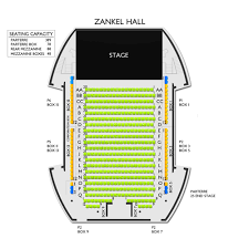 Carnegie Hall Stern Seating Chart Carnegie Hall Zankel Hall 2019 Seating Chart