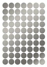 Small Circle Sticker 1 2 Inch Silver Round Labels Round Sticker Half Inch Stickers Small Silver Wedding Seal Self Adhesive Dots