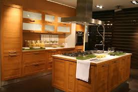 contemporary kitchens with wood cabinets. Wonderful Kitchens Stylish And Peaceful Modern Oak Kitchen Design Wood Cabinets Solid Cabinet  On Home Ideas Contemporary Kitchens With R
