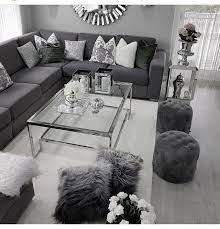 living room decor gray