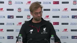 Look at how he reacted to the interviewer. Jurgen Klopp Lfc Gif By Liverpool Fc Find Share On Giphy