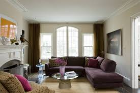purple living room furniture. Purple L-shaped Sofa In DC Living Room Furniture R