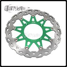 320mm floating disc front brake discs brake rotor for kx kxf klx kx125 kx250 kx250f kx450f