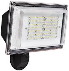 exterior led spot lighting. amax lighting led-sl42bz led security light wall pack, 42w, bronze - amazon.com exterior led spot r
