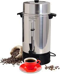 Bringing people together to have amazing coffee & find inspiration to help others. West Bend 33600 Highly Polished Aluminum Commercial Coffee Urn Features Automatic Temperature Control Large Capacity With Quick Brewing Smooth Prep And Easy Clean Up 100 Cup Silver Home Kitchen Amazon Com