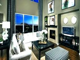 family room wall ideas two story family room 2 decorating walls wall ideas fireplace two story