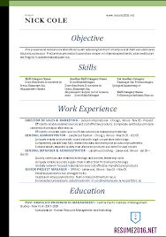 Gallery Of Word Resume Templates 2016 Resume Format Word Simple