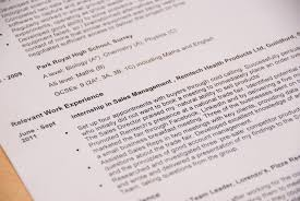 Collection Of Solutions How To Write A Cv To Use At A Job Fair