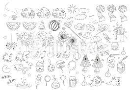 和風 夏素材 手描きイラスト No 474216無料イラストならイラストac