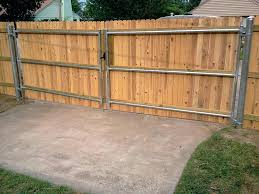 build wooden fence build fence gates how to build a wooden fence gate with metal posts