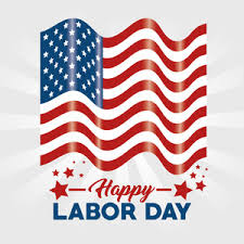labor day theme usa flag theme sky vector background royalty free stock image