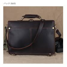 tiding studs reinforcement 3way men genuine leather briefcase business bag rucksack thick cowhide oil leather secular