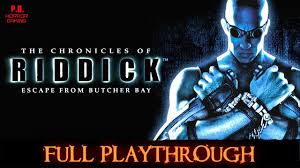 The Chronicles of Riddick : Escape from Butcher Bay | Full Playthrough |  Walkthrough No Commentary - YouTube