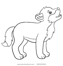Wolf Coloring Pages To Print Wolf Coloring Pages Printable For