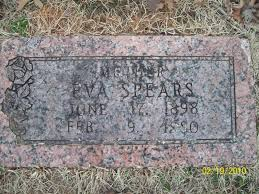 Eva Spears (Sexton) (1898 - 1980) - Genealogy