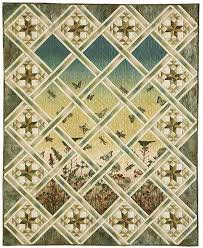 Magical Meadow: Serene Panel Print/Pieced Lap Quilt Pattern ... & Magical Meadow: Serene Panel Print/Pieced Lap Quilt Pattern. Beautiful quilt ! Adamdwight.com