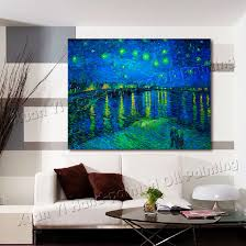 famous art prints masters starry night vincent van gogh oil painting wall art picture for living on famous wall art prints with famous art prints masters starry night vincent van gogh oil painting