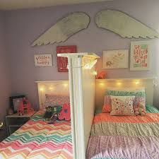 Shared little girls bedroom. Love it because each of them has their own  space. | For the Girls | Pinterest | Bedrooms, Spaces and Girls