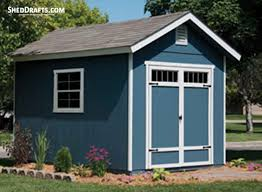 8x12 gable garden shed plans blueprints to craft beautiful shed