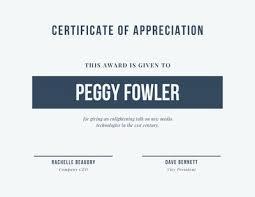 Customize 75 Appreciation Certificates Templates Online Canva