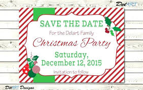 Holiday Templates For Word Free Save The Date Party Template Holiday Download By Christmas Templates