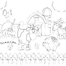 Coloring Pages Farm Farm Coloring Pages Farm Coloring Page Farm