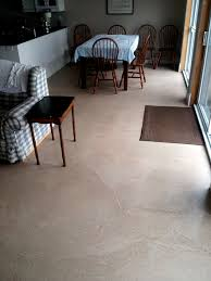 Polished Concrete Floor Kitchen Kitchen Residential Concrete Flooring Self Leveling Portion