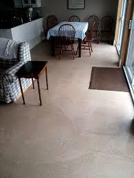 kitchen residential concrete flooring self leveling portion control clark nj