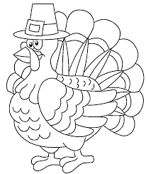 Small Picture Awesome Thanksgiving Turkey Coloring Pages 55 With Additional