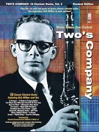 Bob Wilbur – Two's Company: 16 Clarinet Duets | Hal Leonard Online