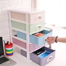 plastic office desk. Office Desk Storage Box Plastic Multi-layer Small Drawer File Cosmetics Debris