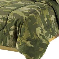 military camo bedding green uflage bedding twin or full teen boy bed in a bag comforter