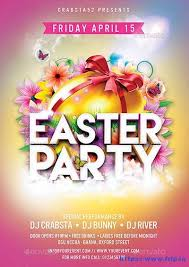 60 Best Easter Party Flyer Print Templates 2019 Frip In