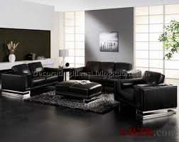 Living Room Decor With Black Leather Sofa Living Room Decor Black Leather Sofa Best Living Room Furniture
