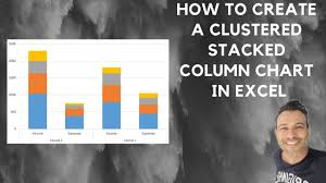How To Create A Clustered Stacked Column Chart In Excel
